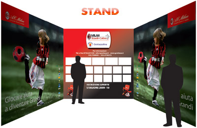immagine dello stand con sponsor
